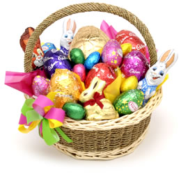 Easter basket ideas lovingyou also had a his and her section for easter basket ideas negle Images