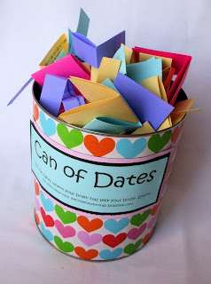 wedding gifts favors do it yourself , sleeping+kids,+can+of+dates+023