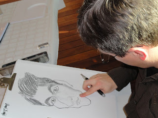 caricature mariage - Guillaume Néel