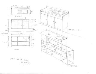 H galo usted mismo mueble para tarja en cocina integral for Planos para hacer una cocina integral