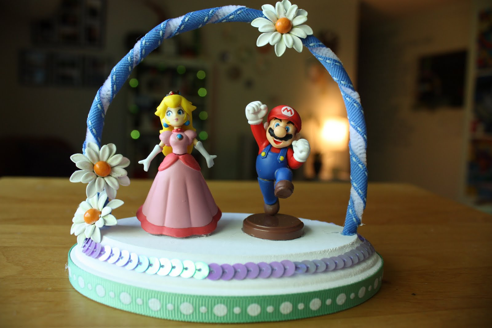 miss fancy pants (the bride): DIY: cake topper = finito