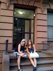 Sitting on a stoop in NYC
