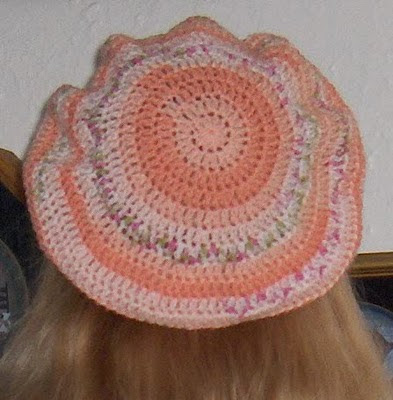 Slouchy Lace Berets - Pattern for Knit & Crochet