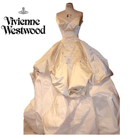 Vivienne Westwood's wedding gown was the most talked about couture piece