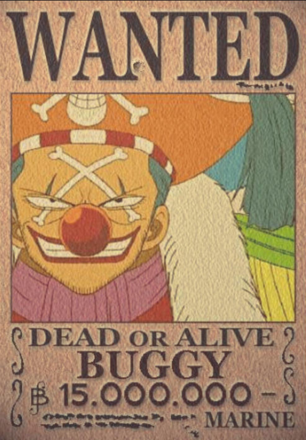 Wallpaper One Piece Wanted