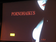 Pornohaikus. Un bonus track delicioso.