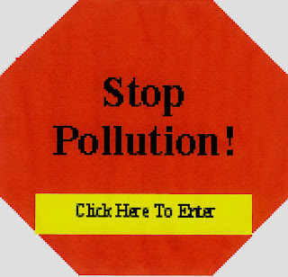 Stop Water Pollution Sign