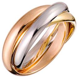 Gold et Diamond: Histoire de lalliance 3 anneaux de Cartier