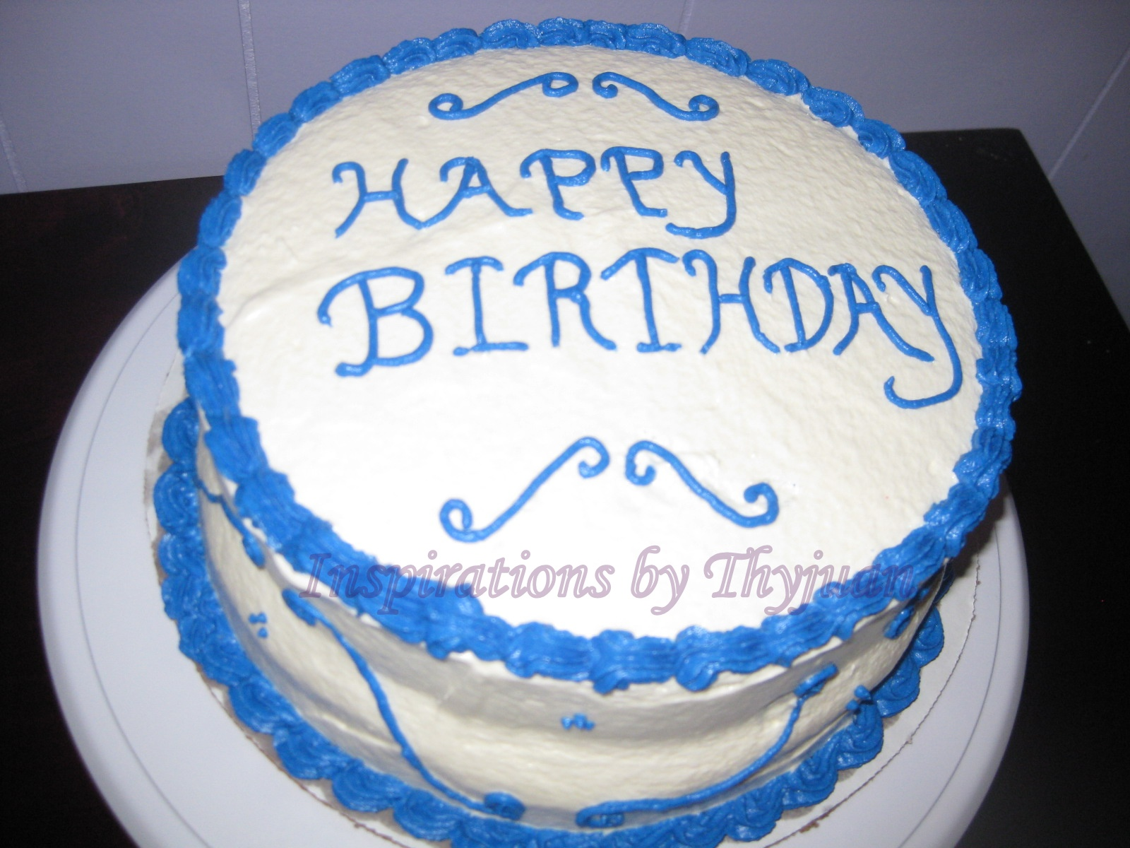 Inspirations By Thyjuan Llc My First Birthday Cake