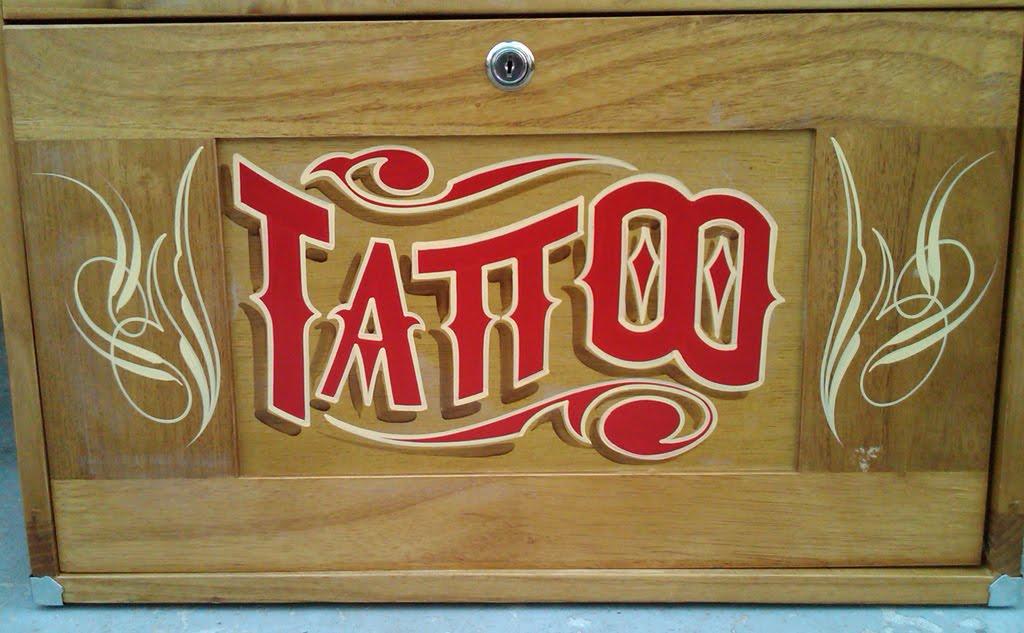 travel tattoo. a small travel tattoo
