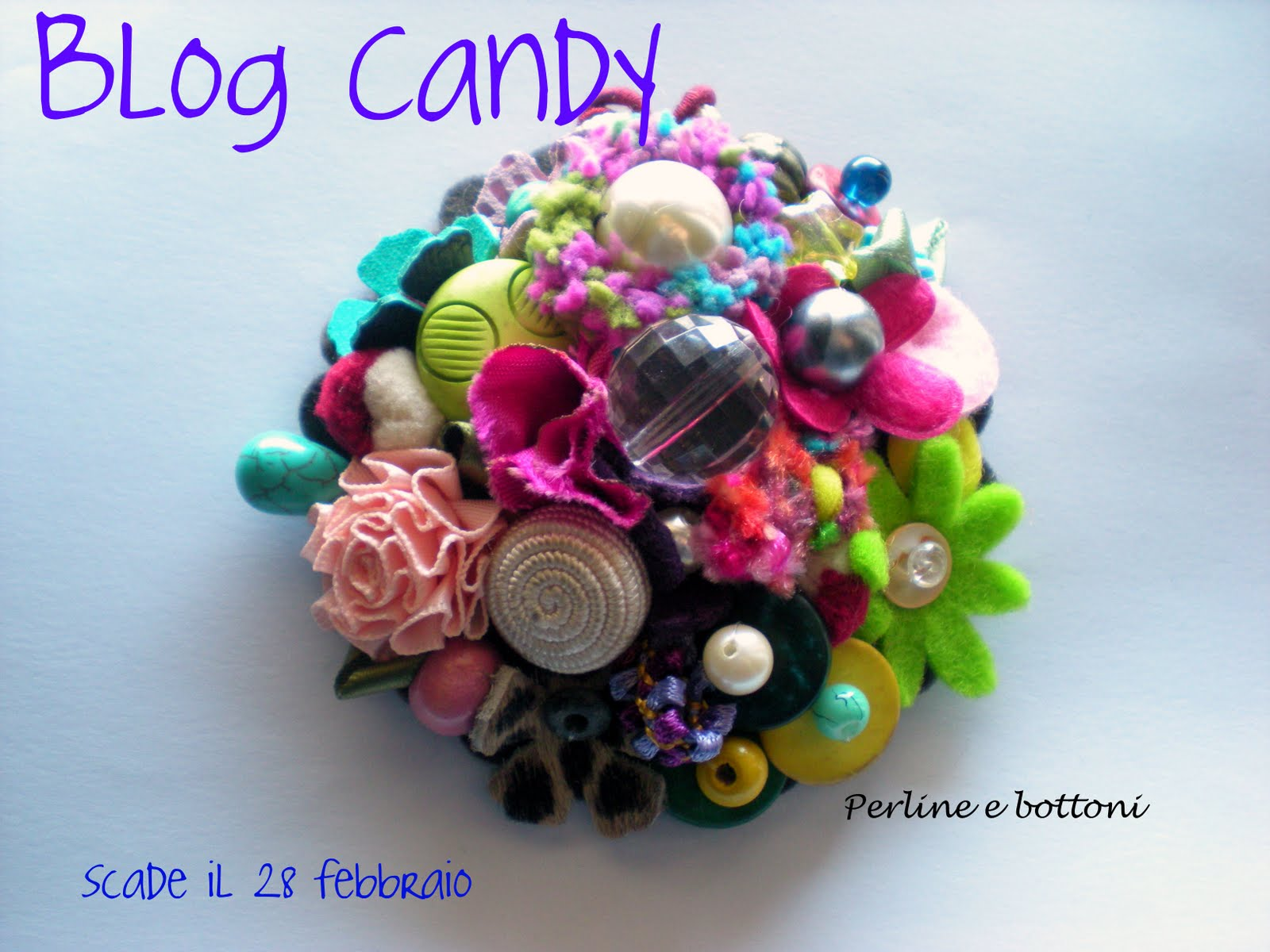 "Blog Candy di... ""Perline e Bottoni"""