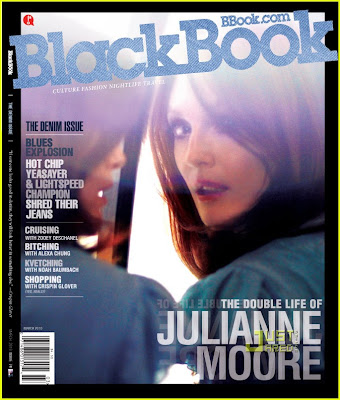Julianne Moore para a Black Book