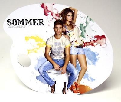 Color explosion na Sommer verão 2011