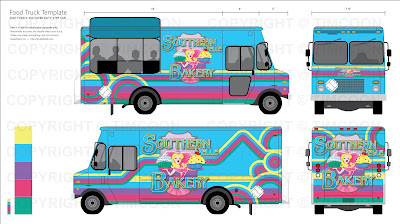 It started in 82 southern belle bakery truck design for Food truck design software
