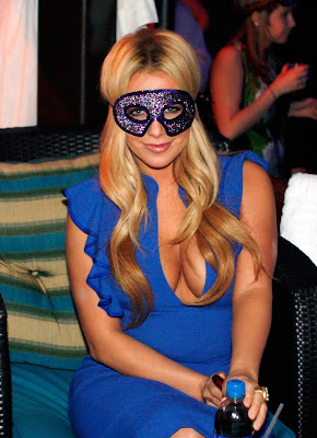 Aubrey O'Day Hot Cute Face Mask Latest Wallpapers