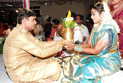 Sandy kajal wedding