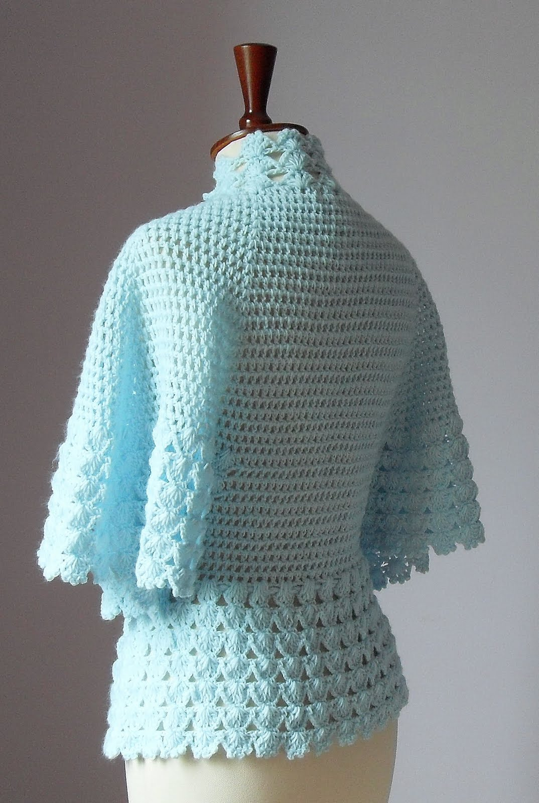 CROCHET BED JACKET PATTERNS - Crochet ? Learn How to Crochet