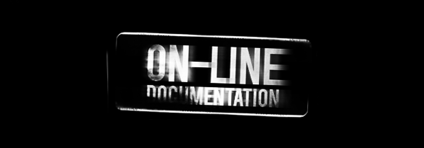on line documentation
