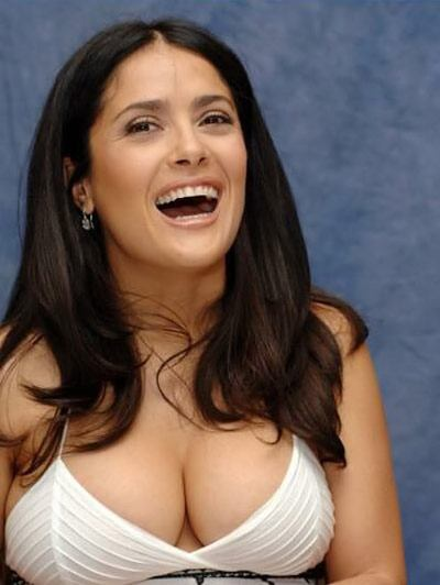 salma hayek height. Salma starts off