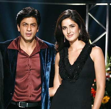 Katrina Kaif romancing Salman's enemy Shahrukh