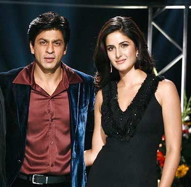 Katrina Kaif romancing Salman's enemy Shahrukh