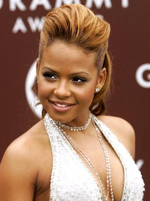 Christina Milian Wedding Dress 3