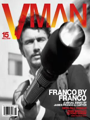James Franco VMAN Magazine