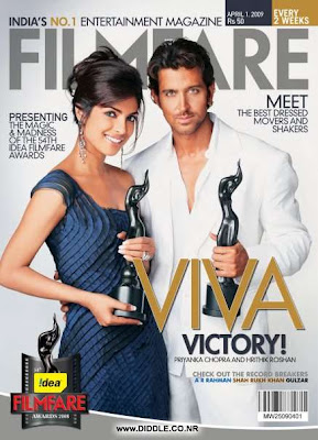 Priyanka Chopra On The Cover Of Filmfare Magazine photo