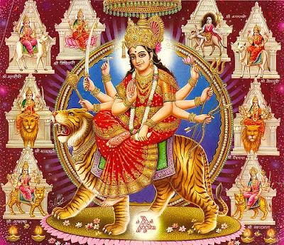 Nav Durga hots image