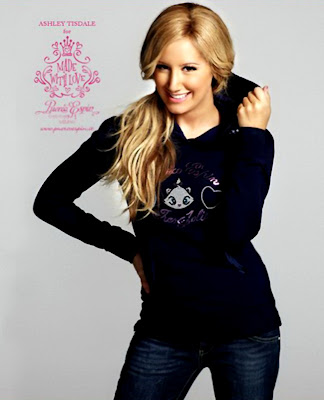 Ashley Tisdale &#8211; Puerco Espin Fall 2009 Catalog sexy picture