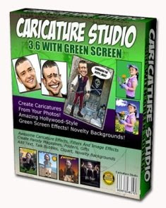 Download de Filmes cxpr Caricature Studio Green v3.6