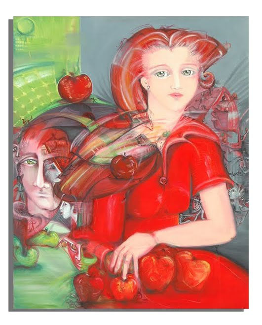 Ella y su fruta