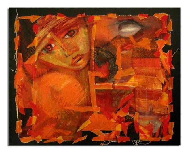 Colage Naranja I