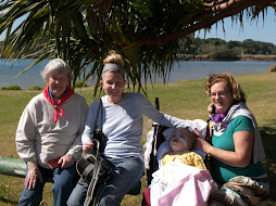 Ruth, mum, me and nanna
