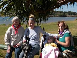 Ruth, mum, me and nanna