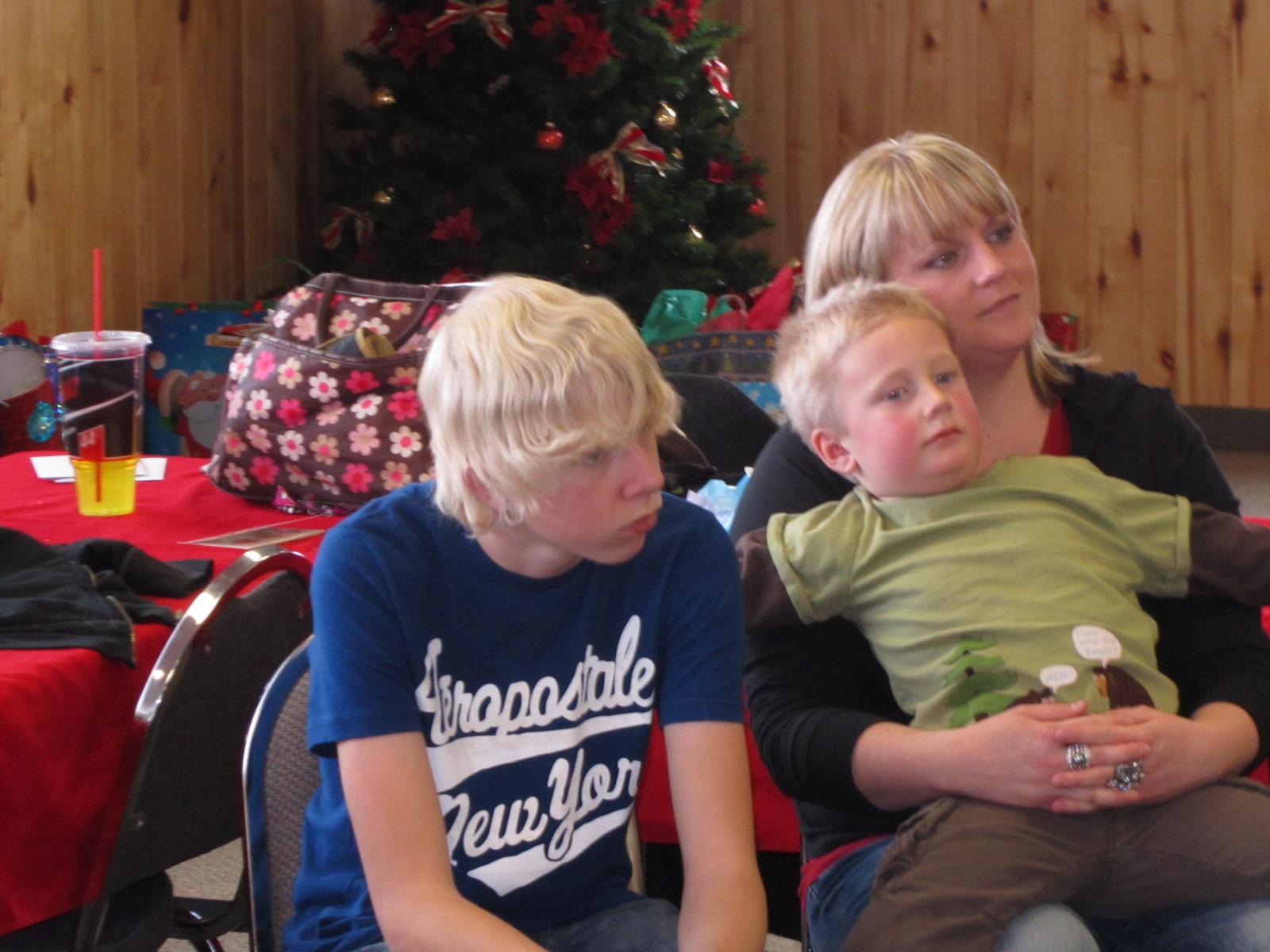Johnson Family: Christmas Nielsen Party!