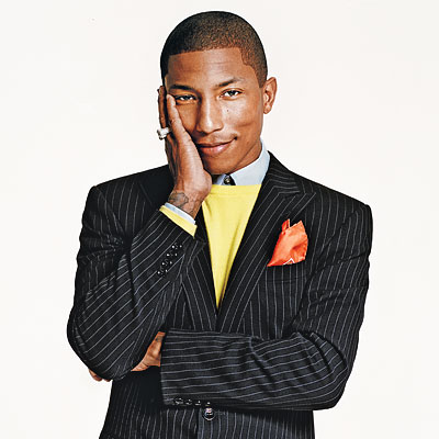 """Pharrell.. Hes unpredictable.. He's Such a Smart Dude"". SIGNATURE SCENT"