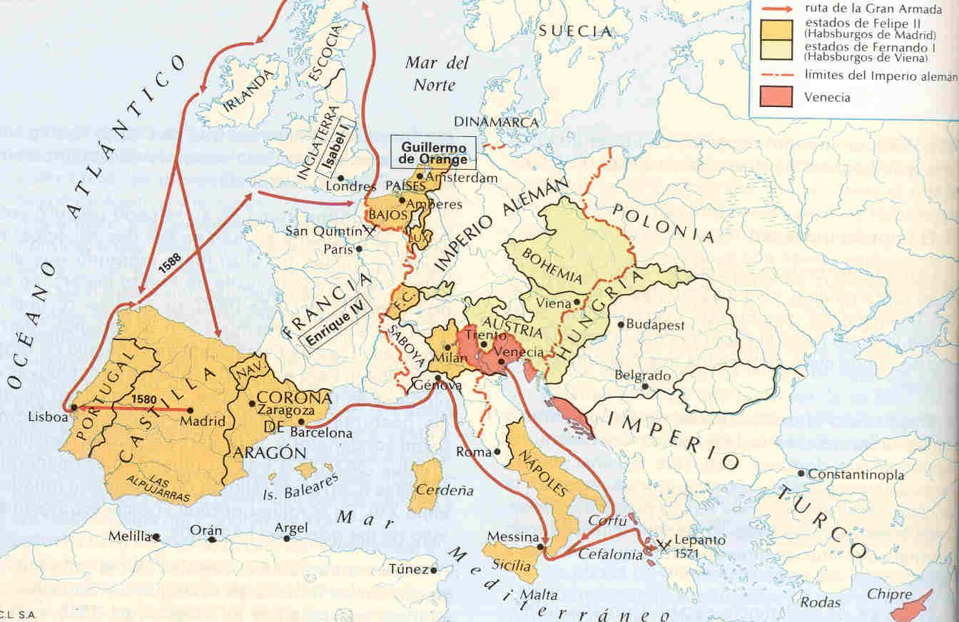 Philipsdaalder (Escudo) de 1557. Felipe II. Amberes La%2Bmonarqu%25C3%25ADa%2Bhisp%25C3%25A1nica%2Bde%2BFelipe%2BII%2B%25285%2529