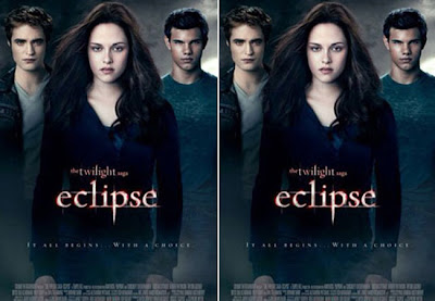 Poster de Eclipse, terceiro filme da saga Crepúsculo
