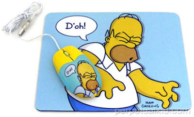 mouse pad do homer
