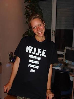 Por que esposa em inglês é wife