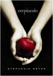 Capa do livro Crepúsculo