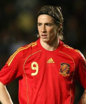 Fernando Torres, da seleção da Espanha
