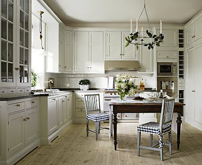 If We Just Look At The Cabinets And Countertops, This Could Be Any Off  White Cabinet/black Countertop Kitchen In America   And Yet It Has Such A  Swedish ...