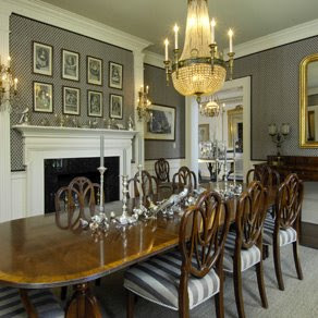 Willow Decor Gray Grey Dining Rooms