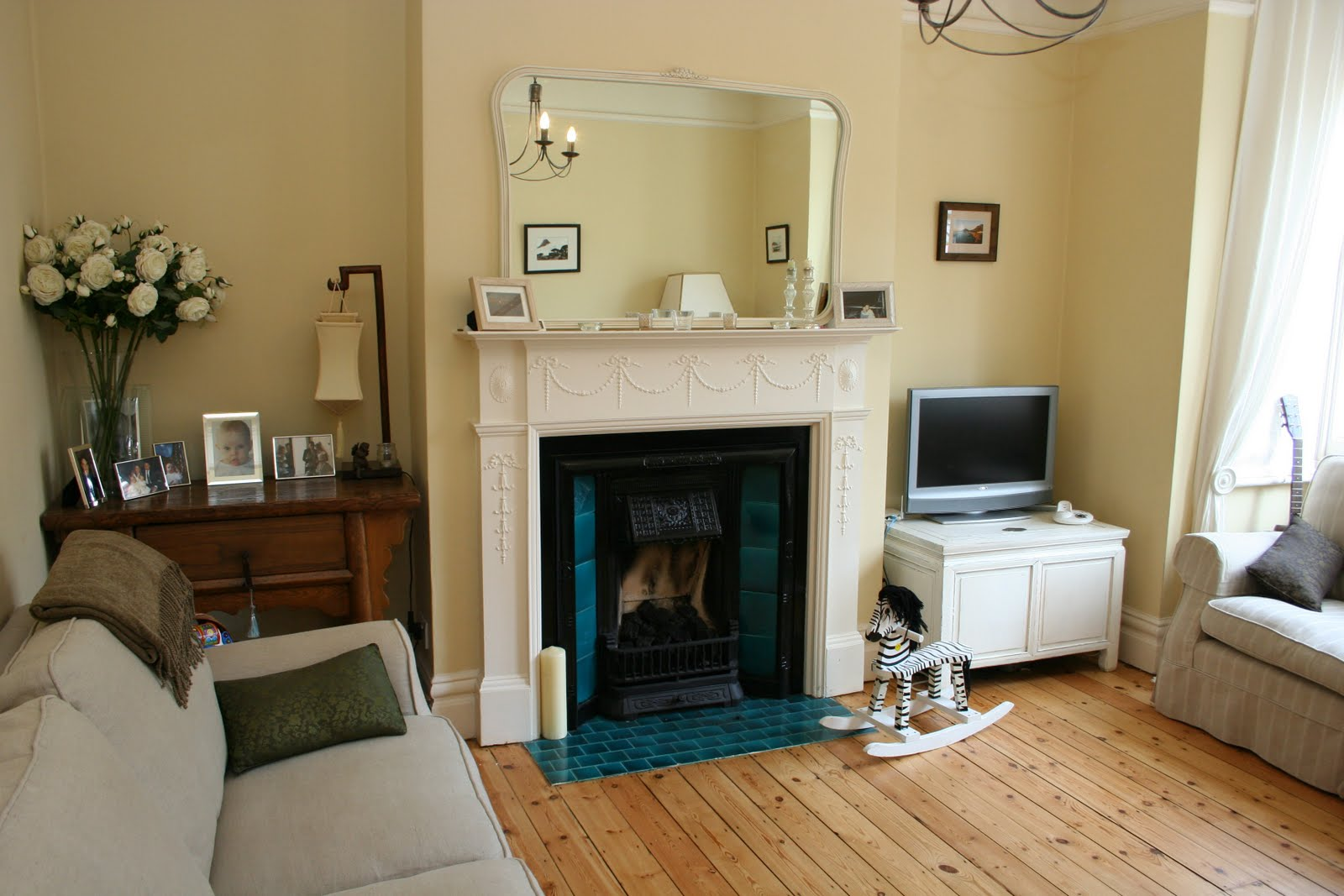 Willow decor a reader 39 s edwardian townhouse in london for Lounge room decor