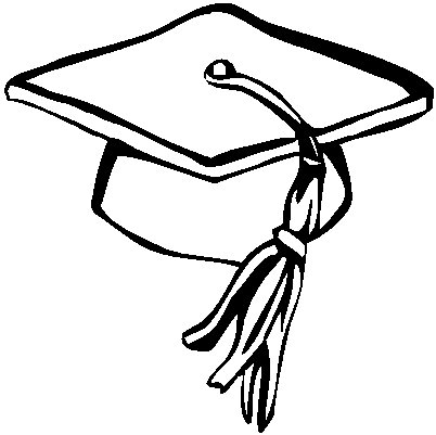 Graduation Tassel Coloring Page