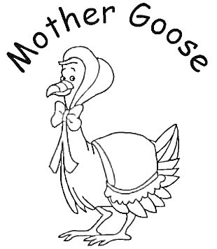 mothergoose coloring pages - photo#7