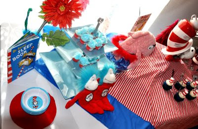 Dr Seuss Baby shower collection