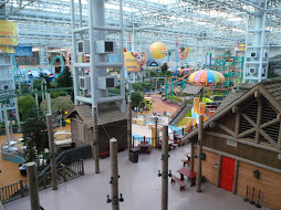 amusementpark in the middle of the biggest shopping mall in the US